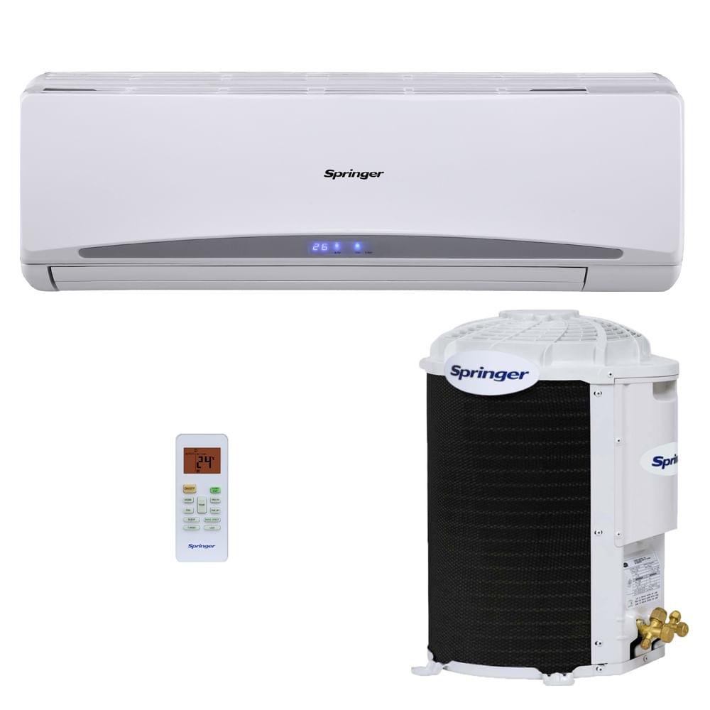 Ar-Condicionado-Split-Hi-Wall-Springer-12000-BTUS-Quente-Frio-220v