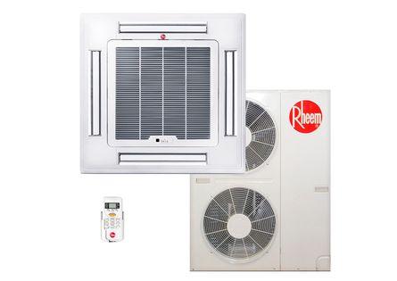 Ar-Condicionado-Split-Cassete-Rheem-48000-Quente-Frio-BTUS-220v-Trifasico