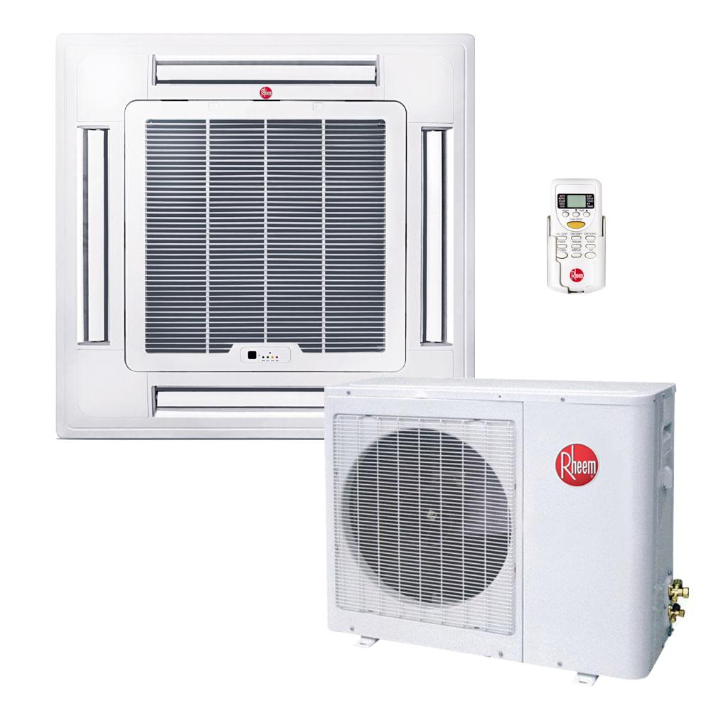 Ar-Condicionado-Split-Cassete-Rheem-36000-BTUS-Quente-Frio-220v-Monofasico