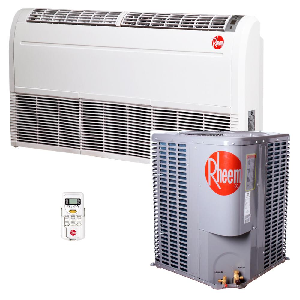 Ar-Condicionado-Split-Piso-Teto-Rheem-60000-BTUS-Quente-Frio-380v-Trifasico