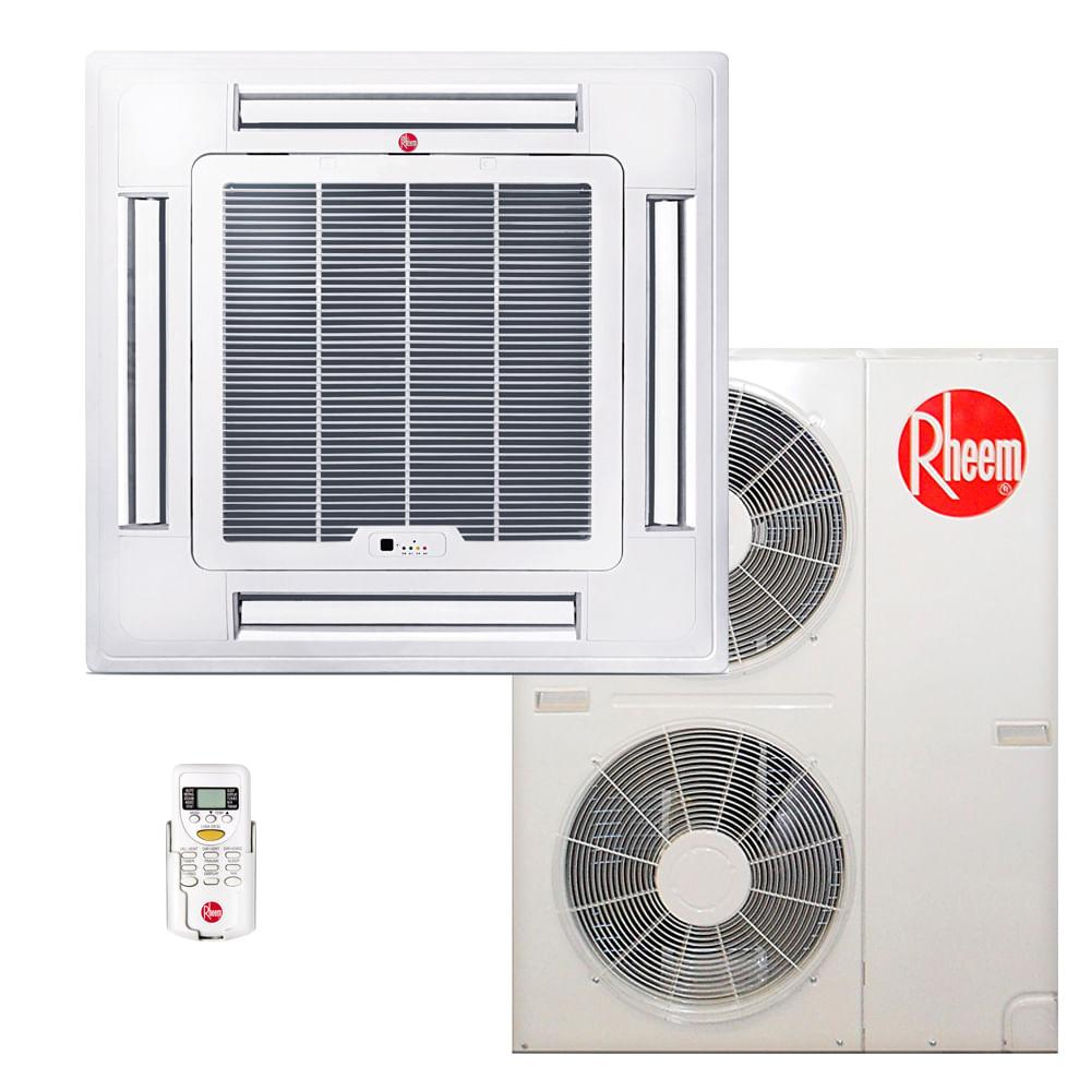 Ar-Condicionado-Split-Cassete-Rheem-48000-BTUS-Quente-Frio-380v-Trifasico