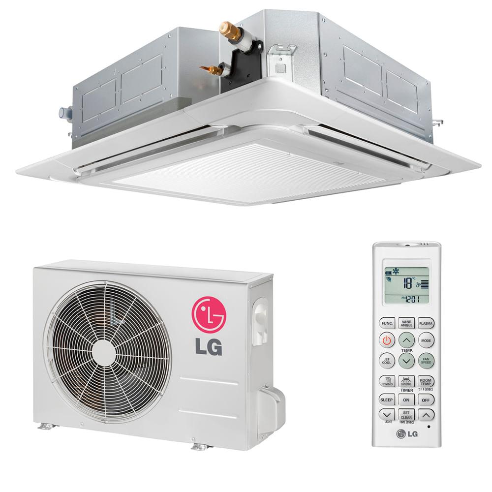 Ar-Condicionado-Split-Cassete-LG-24000-BTUS-Frio-220v-Monofasico