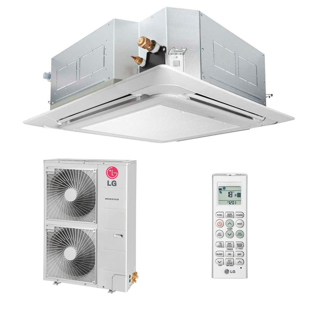 Ar-Condicionado-Split-Cassete-LG-48000-BTUS-Quente-Frio-220v-Trifasico