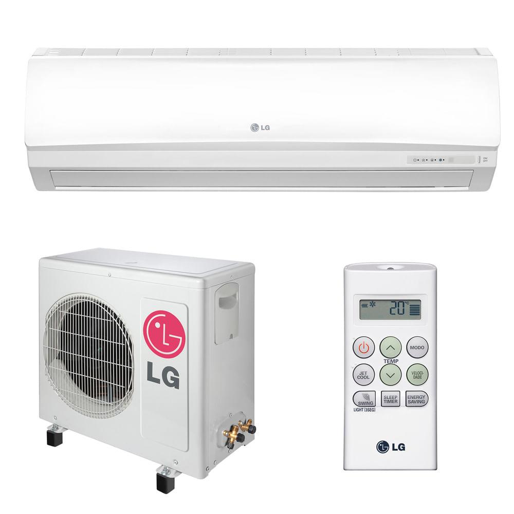 Ar-Condicionado-Split-Hi-Wall-LG-Smile-12000-BTUS-Quente-Frio-220v