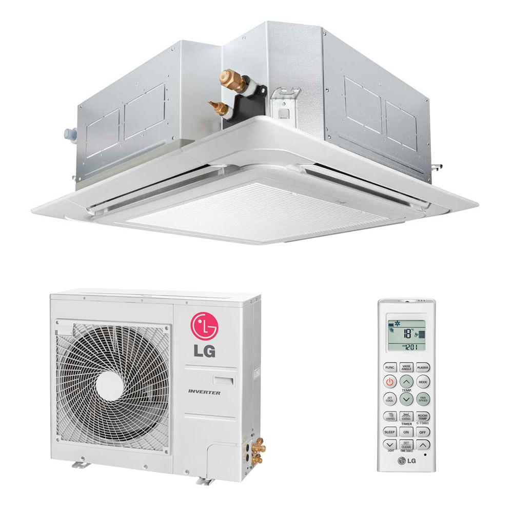 Ar-Condicionado-Split-Cassete-Inverter-LG-36000-BTUS-Frio-220v-Monofasico
