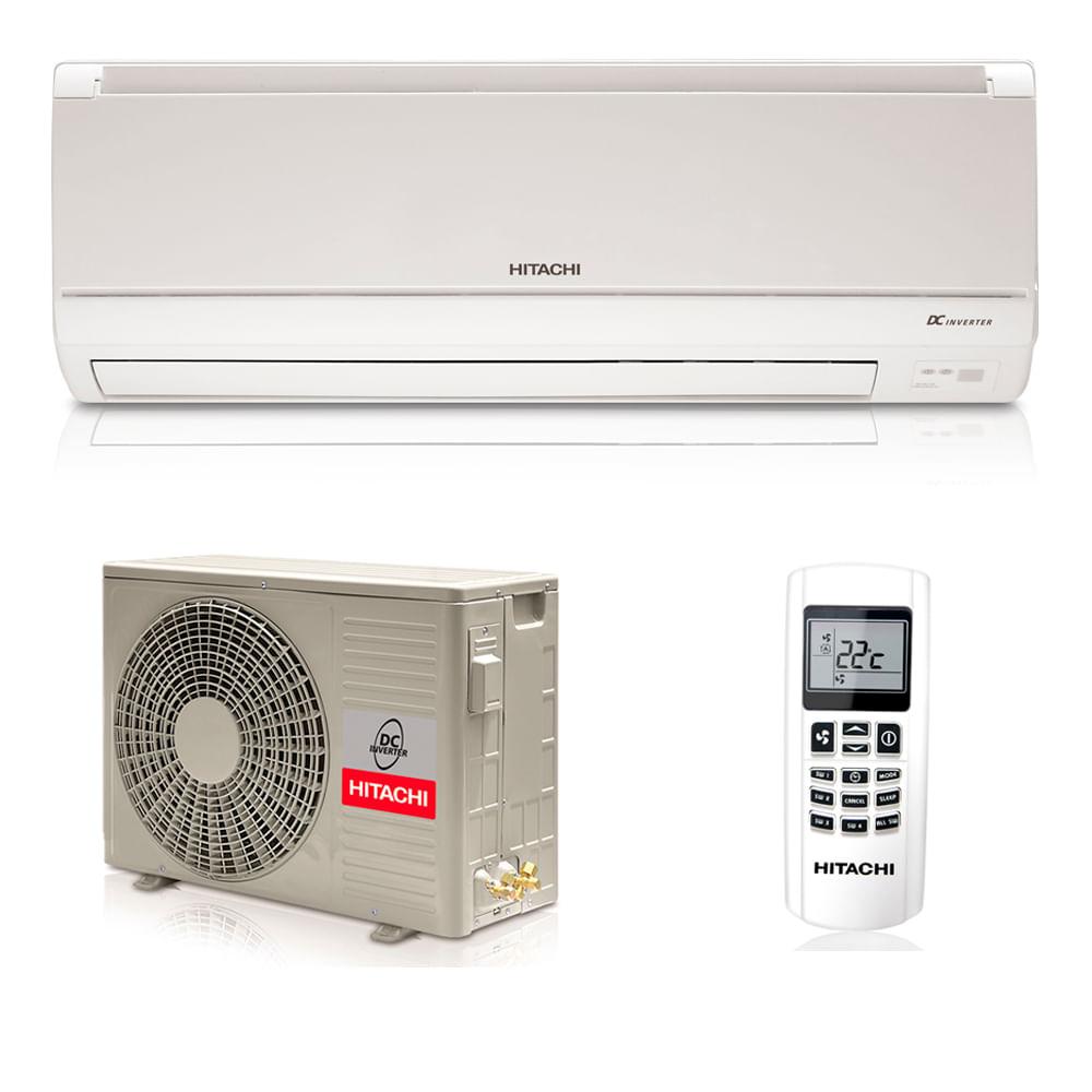 Ar-Condicionado-Split-Inverter-Hitachi-12000-BTUS-Frio-220v-R410