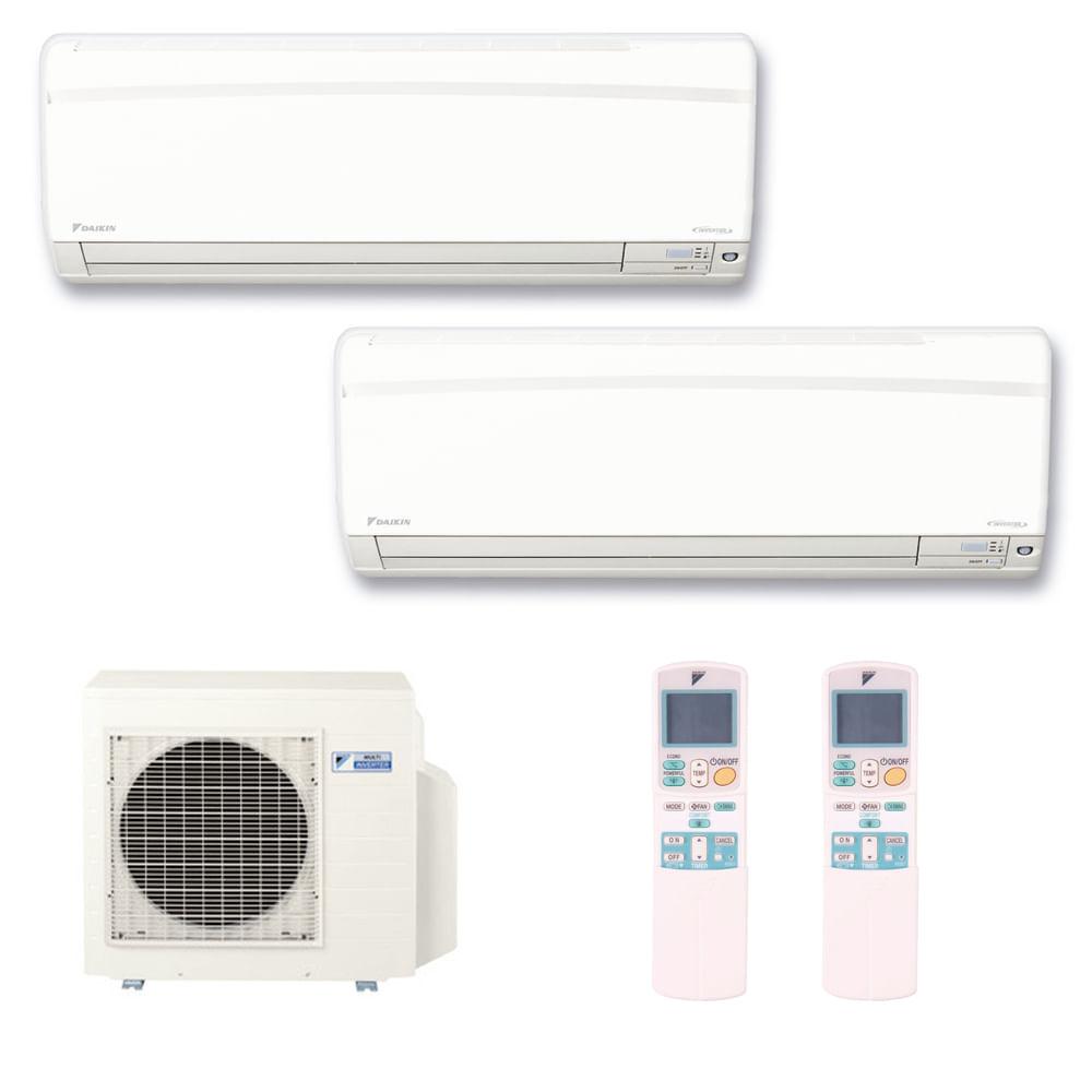 Ar-Condicionado-Multi-Split-Inverter-Hi-Wall-Daikin-2x9000-BTUs-Quente-e-Frio-220v-Monofasico