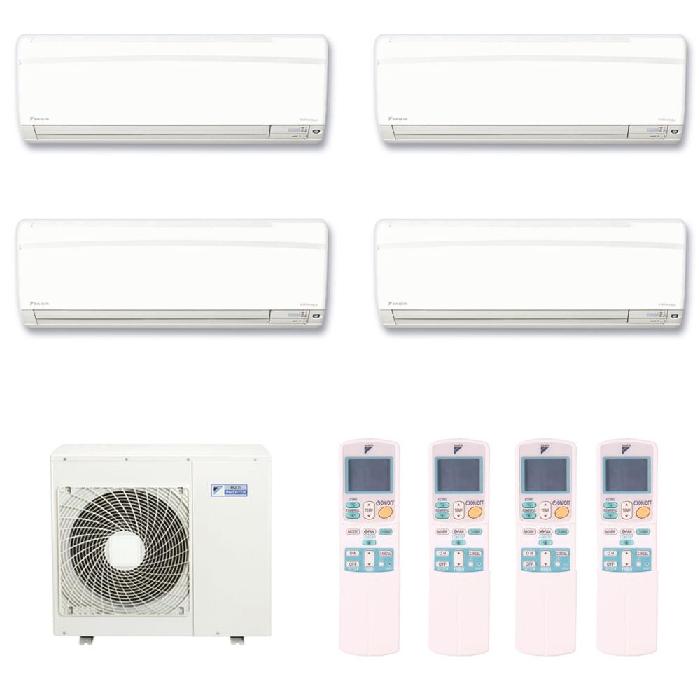 Ar-Condicionado-Multi-Split-Inverter-Hi-Wall-Daikin-3x9000-e-1x12000-BTUs-Quente-e-Frio-220v-Monofasico