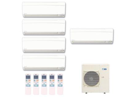 Ar-Condicionado-Multi-Split-Inverter-Hi-Wall-Daikin-4x9000-e-1x12000-BTUs-Quente-e-Frio-220v-Monofasico