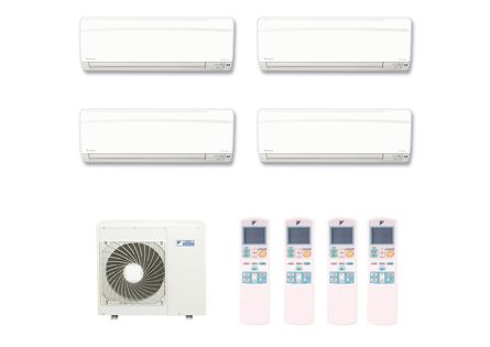 Ar-Condicionado-Multi-Split-Inverter-Hi-Wall-Daikin-4x12000-BTUs-Quente-e-Frio-220v-Monofasico