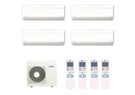 Ar-Condicionado-Multi-Split-Inverter-Hi-Wall-Daikin-2x9000-e-2x12000-BTUs-Quente-e-Frio-220v-Monofasico