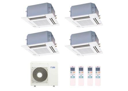 Ar-Condicionado-Multi-Split-Inverter-Cassete-Daikin-2x9000-e-2x12000-BTUs-Quente-e-Frio-220v-Monofasico