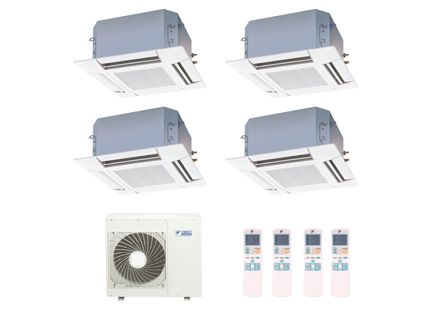 Ar-Condicionado-Multi-Split-Inverter-Cassete-Daikin-3x9000-e-1x18000-BTUs-Quente-e-Frio-220v-Monofasico