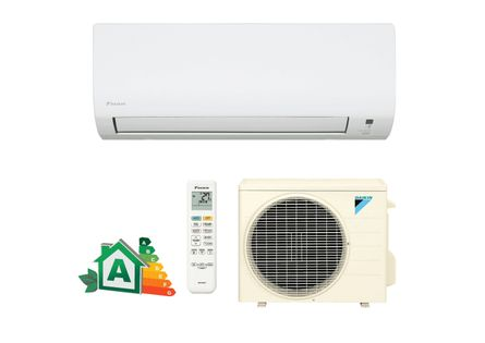 Ar condicionado com design moderno