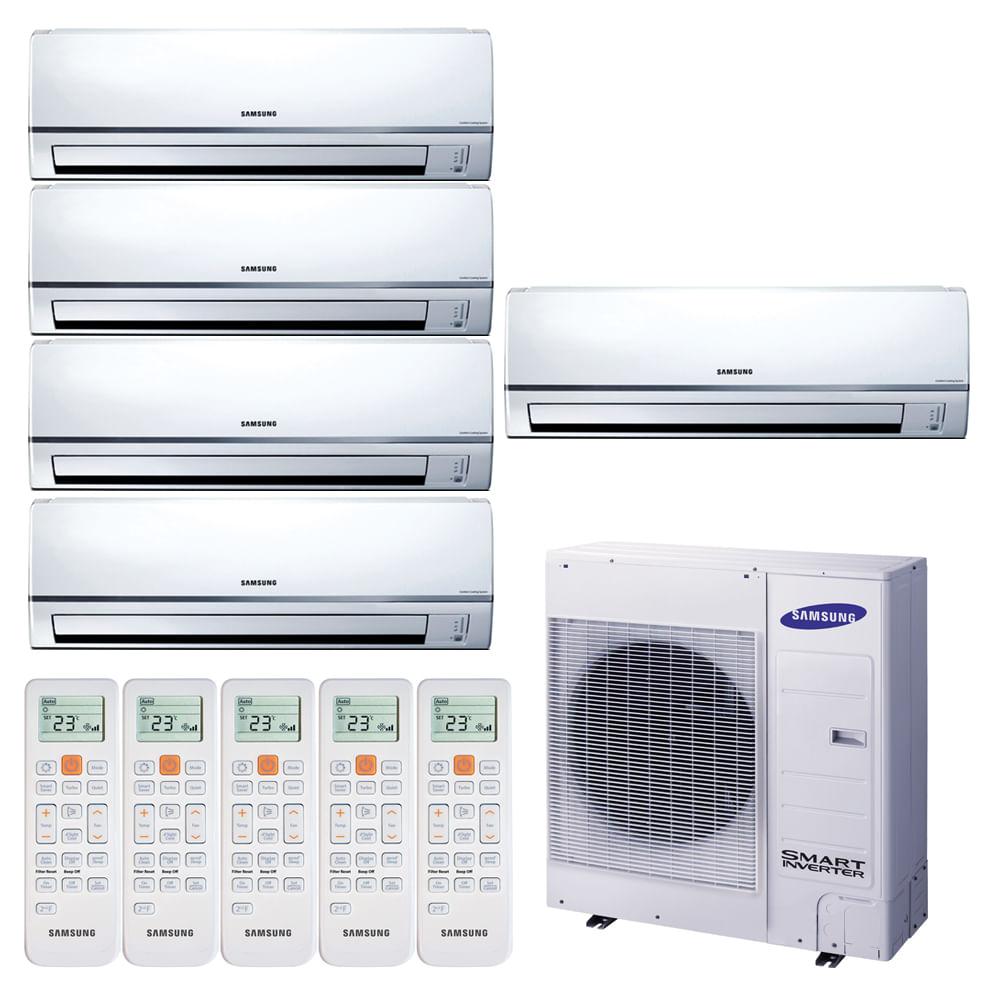 109829-Ar-Condicionado-Multi-Split-Inverter-Hi-Wall-Samsung-4X9.000-e-1X12.000-BTUS-Quente-e-Frio-220v-Monofasico--1-