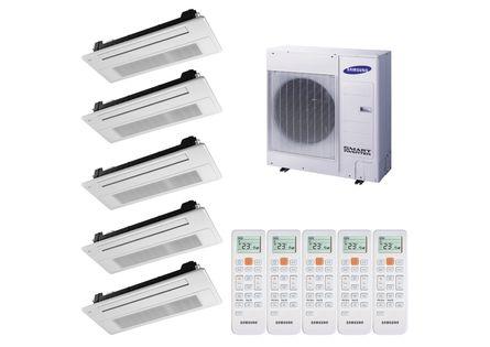 109938-Ar-Condicionado-Multi-Split-Inverter-Cassete-Samsung-4X9.000-BTUS-e-1X12.000-BTUS-Quente-e-Frio-220v-Monofasico--1-
