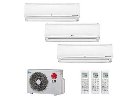 Kit para instalação de ar condicionado split 9000 btus