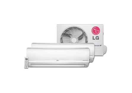 Ar Condicionado Multi Split Inverter LG 1x 7.000 + 1x 9.000 BTU / h Quente e Frio - 220 Volts