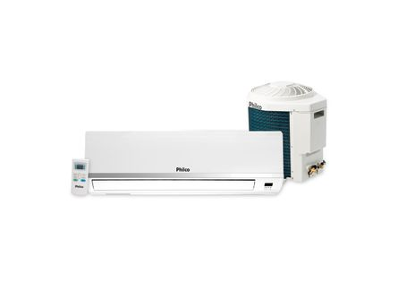 Ar Condicionado Split Philco Top Discharger 9.000 BTU / h Quente e Frio R - 410A - 220 Q / F