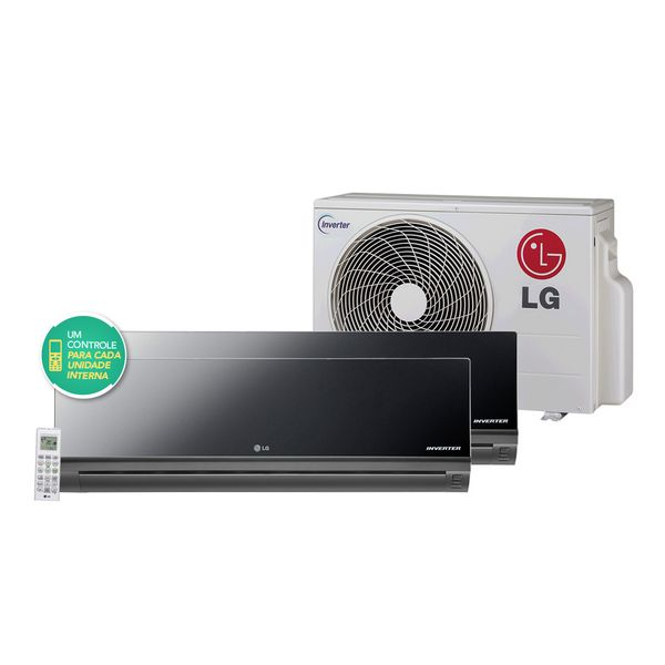 Ar-Condicionado-Multi-Split-LG-Art-Cool-Inverter-1x9.000---1x12.000-BTU-h-Quente-e-Frio-R-410A-Conjunto