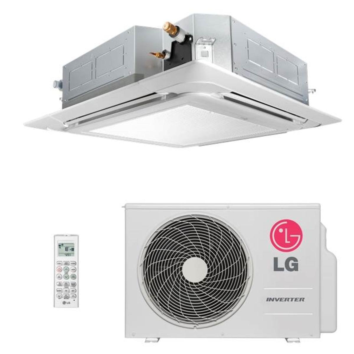 Ar-Condicionado-Split-LG-Cassete-Inverter-17.000-BTU-h-Frio-AT-Q18GPLE3-Conjunto