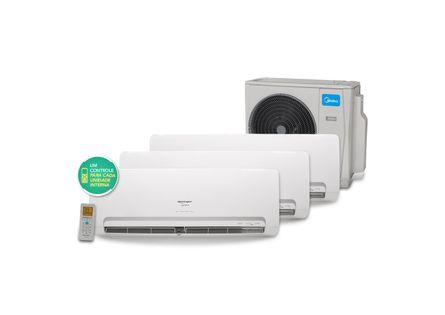 Ar Condicionado Multi Split Inverter Springer Midea 1x9.000 e 2x12.000 BTU / h Quente e Frio - 220 Volts