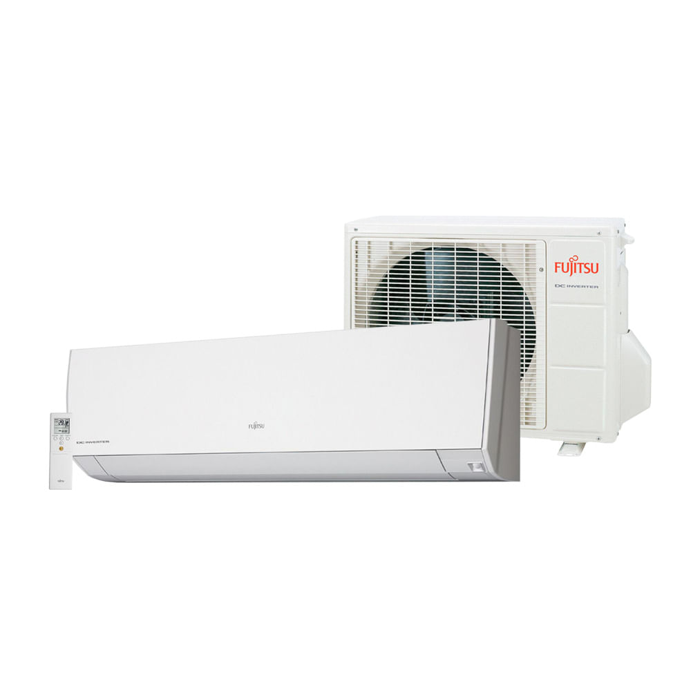 Ar-Condicionado-Split-Inverter-Fujitsu-9.000-BTU-h-Quente-e-Frio-ASBG09LMCA-Conjunto