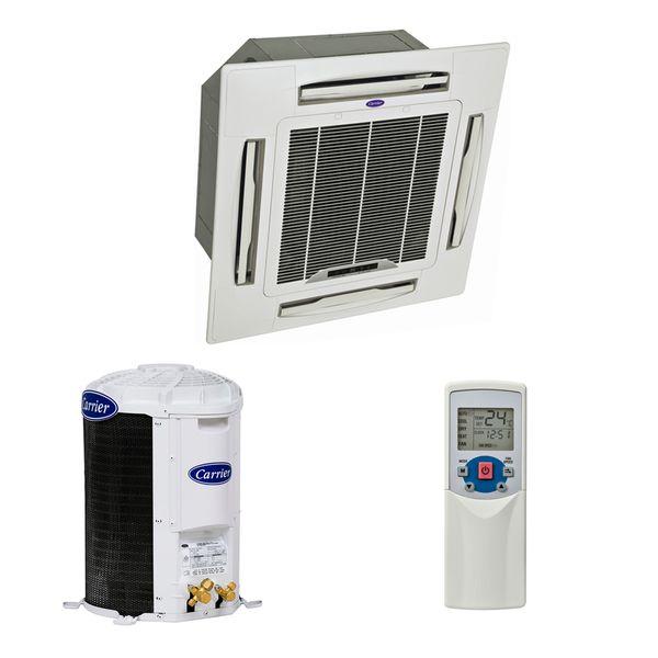 Ar-Condicionado-Split-Cassete-Carrier-36000-BTUS-Frio-220v-Monofasico-Quente-Frio-R410