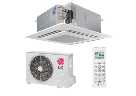 Ar Condicionado Split Cassete LG 18000 BTUs Quente Frio 220v Monofásico