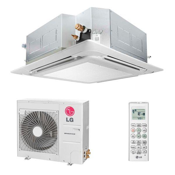 Ar-Condicionado-Split-Cassete-Inverter-LG-42000-BTUS-Frio-220v-Monofasico