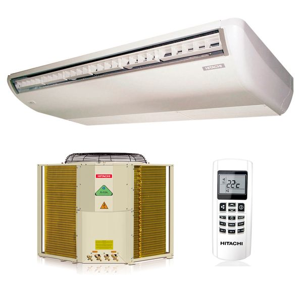 Ar-Condicionado-Split-Piso-Teto-Hitachi-18000-BTUS-Quente-Frio-220v-Trifasico-R410