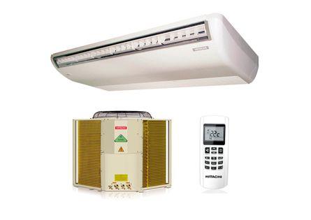 Ar Condicionado Split Piso Teto Hitachi 48000 BTUS Quente Frio 220v Trifásico R410