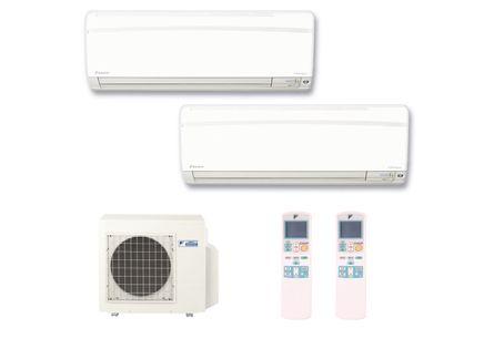 Ar Condicionado Multi Split Inverter Hi Wall Daikin 2X9.000 BTUS Quente e Frio 220v Monofásico