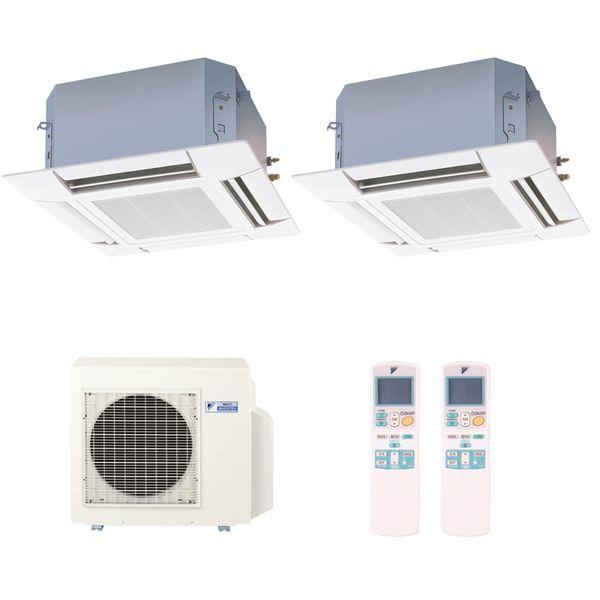 Ar-Condicionado-Multi-Split-Inverter-Cassete-Daikin-2x12000-BTUs-Quente-e-Frio-220v-Monofasico