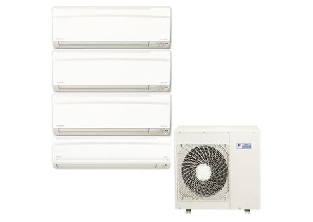 Ar Condicionado Multi Split Inverter Hi Wall Daikin 3X9.000 e 1X18.000 BTUS Quente e Frio 220v Monofásico