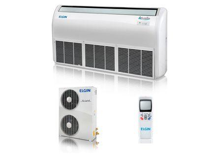Ar Condicionado Split Piso Teto Elgin 30000 BTUs Quente Frio 220v Trifásico