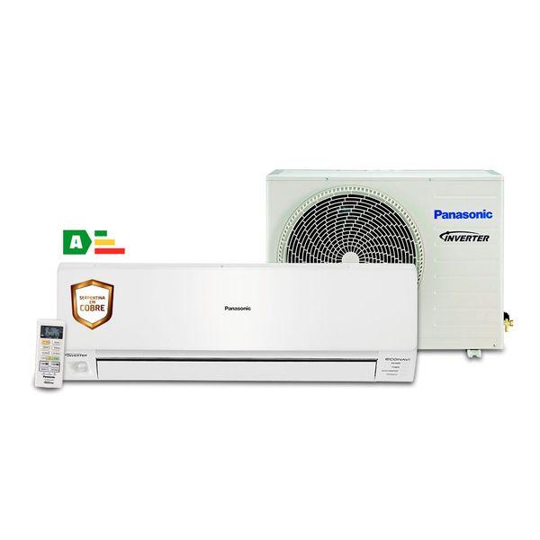 Ar-Condicionado-Split-Panasonic-Inverter-Econavi-22000-BTU-h-Quente-e-Frio---CS-RE22PKV-7