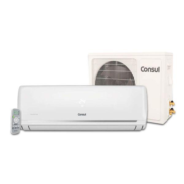 Ar Condicionado Split Inverter Consul 12.000 BTU/h Quente e Frio R-410AConjunto