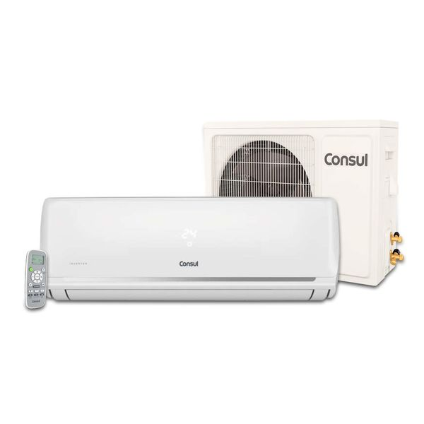 Ar Condicionado Split Inverter Ar Condicionado Split Inverter Consul 18.000 BTU/h Frio R-410AConjunto