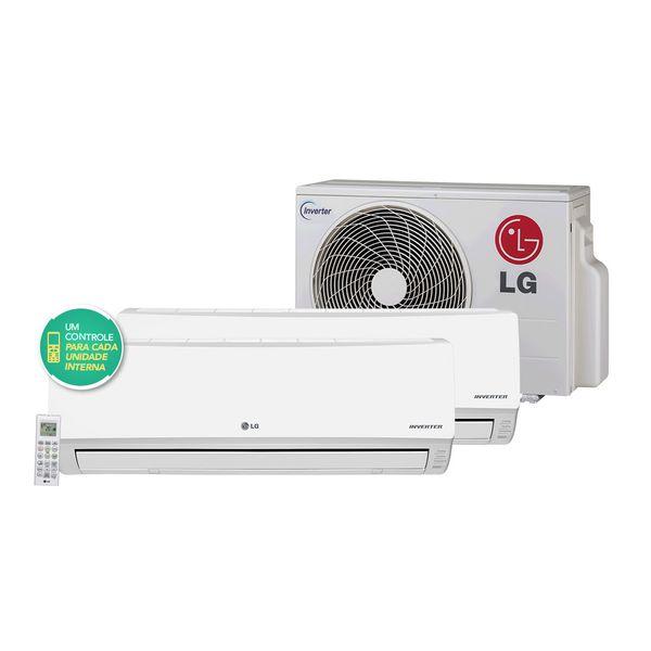 Ar-Condicionado-Multi-Split-LG-Inverter-1x7.000---1x12.000-BTU-h-Quente-e-Frio-R-410A-Conjunto