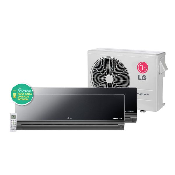 Ar-Condicionado-Multi-Split-LG-Art-Cool-Inverter-1x12.000---1x18.000-BTU-h-Quente-e-Frio-R-410A