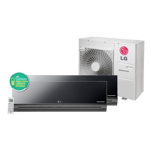 Ar-Condicionado-Multi-Split-Inverter-LG-ArtCool-Mirror-1x12.000-e-1x24.000-BTU-h-Quente-Frio-Conjunto