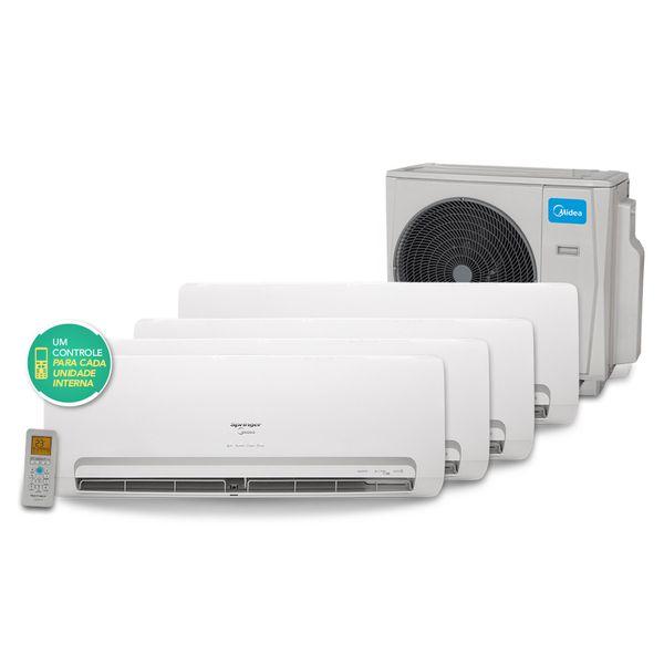Ar-Condicionado-Multi-Split-Inverter-Springer-Midea-3x9.000-e-1x18.000-BTU-h-Quente-e-Frio-Conjunto