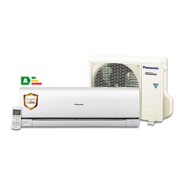 Ar-Condicionado-Split-Inverter-Panasonic-Econavi-22.000-BTU-h-Frio-CS-PS22PKV-71-Conjunto
