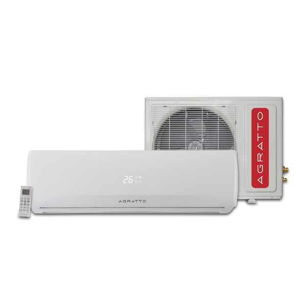 Ar-Condicionado-Split-Agratto-Confort-Fit-9.000-BTU-h-Quente-e-frio-R-410A-Conjunto