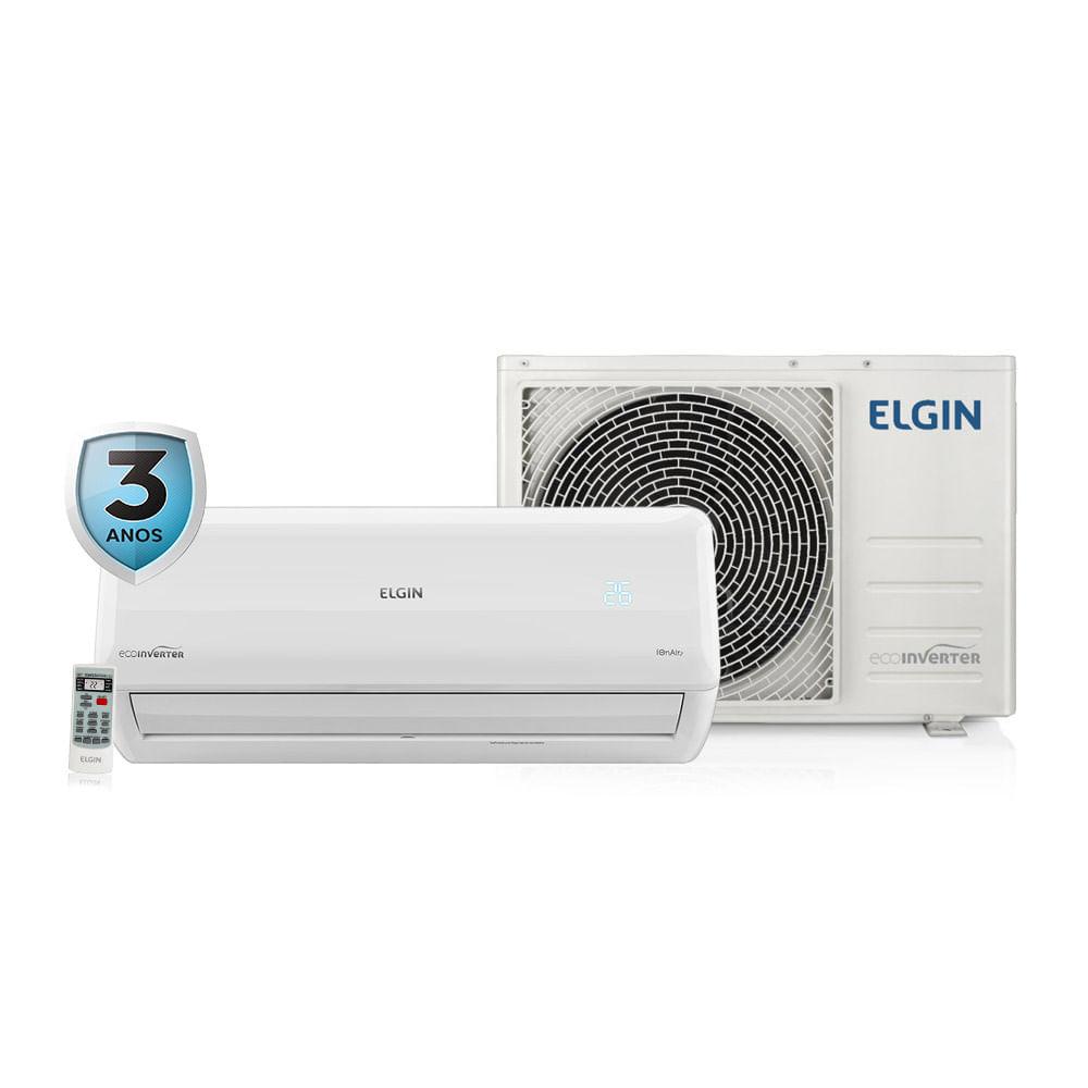 822d1e88f Ar Condicionado Split Inverter Elgin Eco 12.000 BTU h Quente e Frio ...