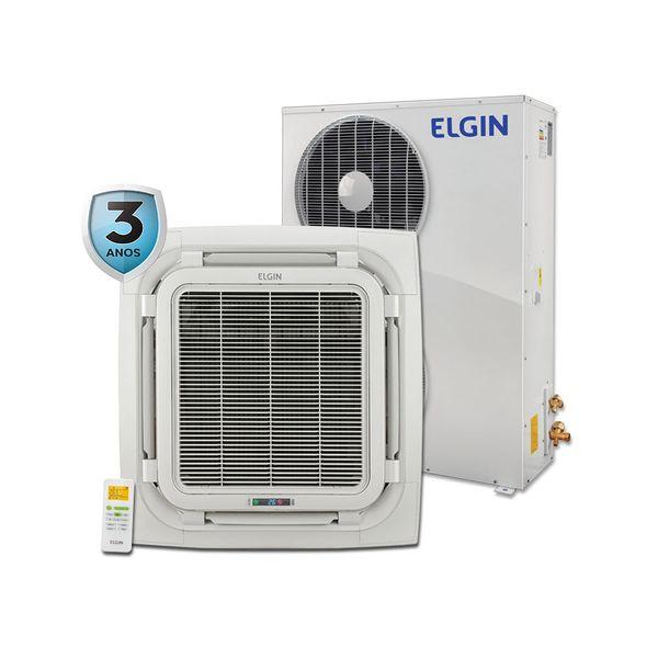 Ar-Condicionado-Split-Cassete-Elgin-Eco-60.000-BTU-h-Quente-e-Frio-Trifasico-KEQI60B2NC-