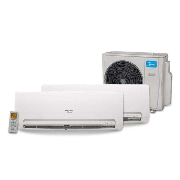 Ar-Condicionado-Multi-Split-Inverter-Springer-Midea-2x12.000-BTU-h-Quente-e-Frio-–-220-volts-
