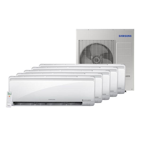 Ar-Condicionado-Multi-Split-Inverter-Samsung-4x9.000-e-1x12.000-BTU-h-Quente-e-Frio-