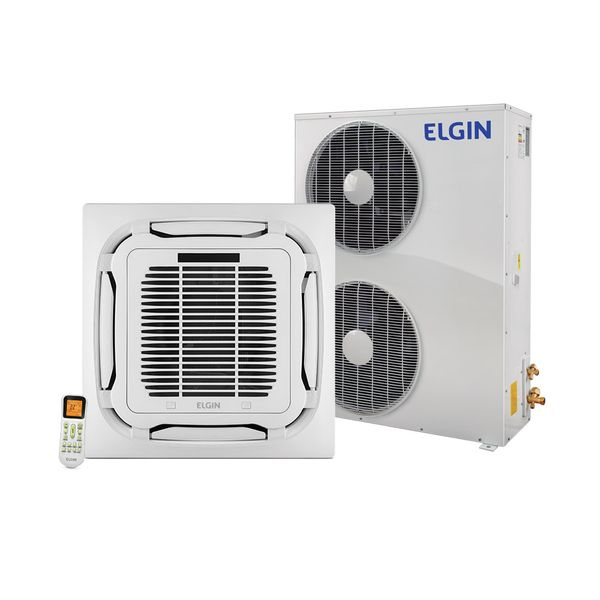 Ar-Condicionado-Split-Cassete-Plus-Elgin-48.000-BTU-h-Quente-e-Frio-KPQI48B2NA-Trifasico---220-Volts